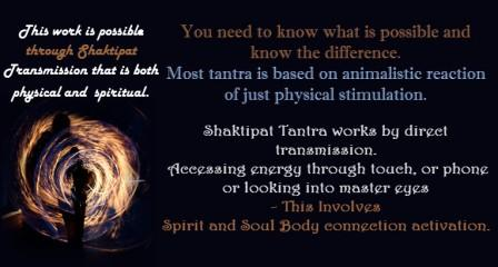 Shaktipat is a direct experience